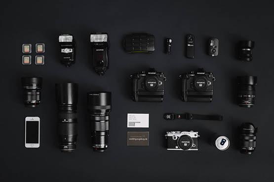 Fotograf Ausrüstung