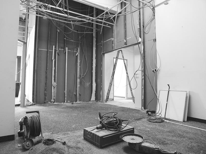 Fotostudio Umbau 2013